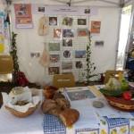 Le stand de La Grange aux légumes