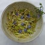 Chou pointu en salade fraîche