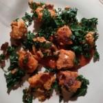 Gnocchis de patates douces et de chou kale